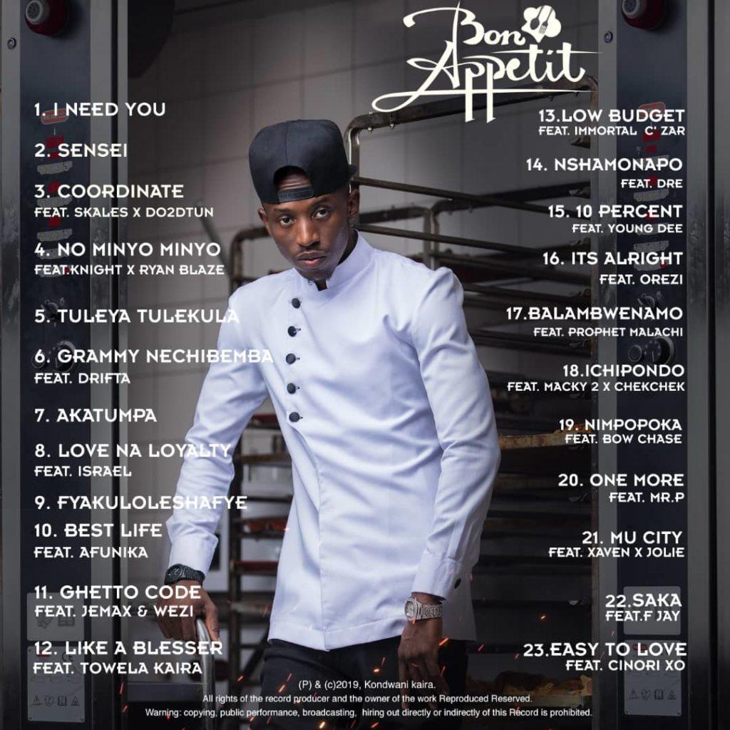 "Chef 187 Finally Releases ""Bon Appetit"" Album Track List"