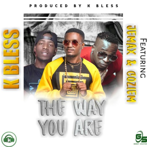 """K Bless features KBW's finest Jemax and singing crooner Coziem on a brand new song called """"The way you Are"""""""
