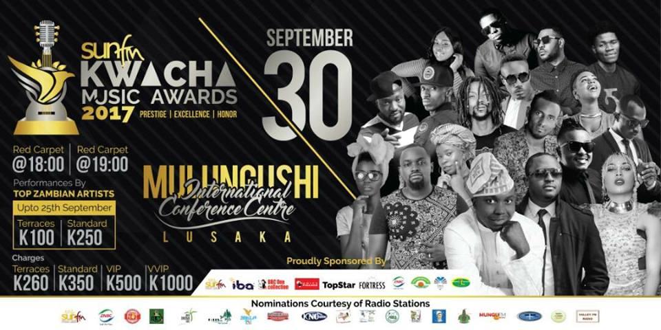 Kwacha Music Awards winners