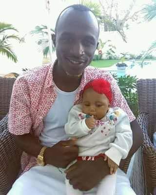 Zambian Celebrity Macky 2 And His Cute Kid