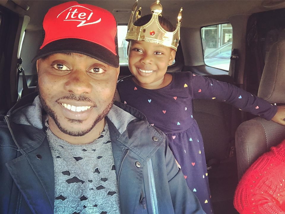 "Zambian Rapper Slap Dee And His Kid ""Nandi"""