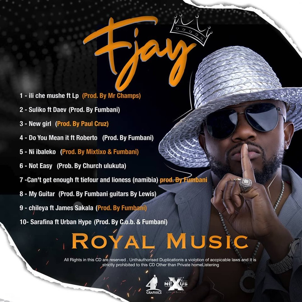 "F Jay Finally Drops ""Royal Music"" Album"