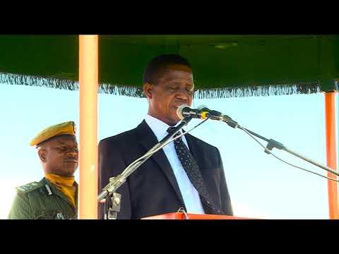 President Edgar Lungu Tells B'Flow To keep It up!