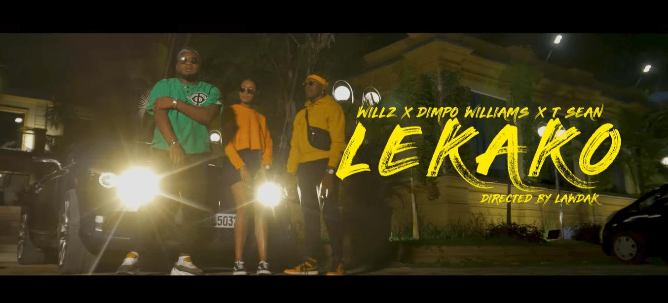 "VIDEO: Willz ft. Dimpo Williams & T-Sean – ""Lekako"""